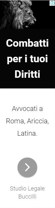 Banner Studio Legale Buccilli Avvocati roma ariccia latina